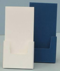 Dispenser, Aufsteller, Blau Und Weiß