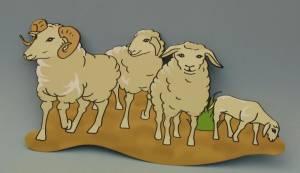 Deckenhänger, Schafe