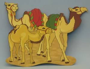 Deckenhänger, Kamele